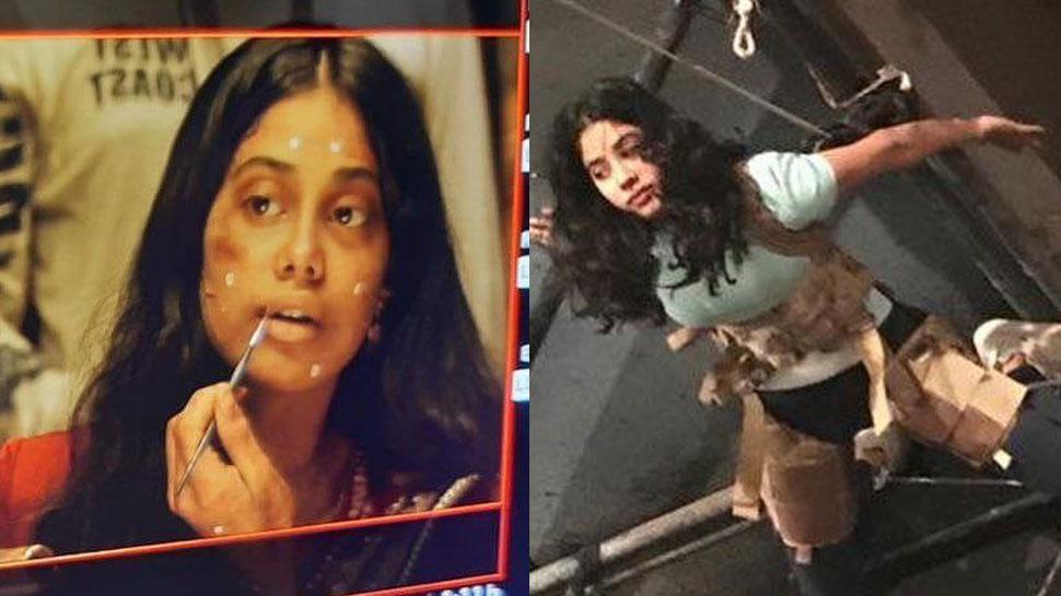 'Roohi' में इतने डरावने अंदाज में दिखेंगी Janhvi Kapoor, Photos देख छूटेंगे पसीने