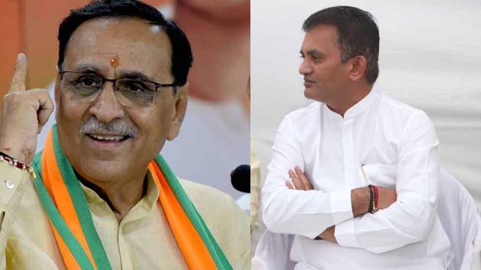 गुजरात CM Vijay Rupani और कांग्रेस नेता परेश धनानी के बीच बहस, MSP को लेकर विधान सभा में भिड़े दोनों नेता