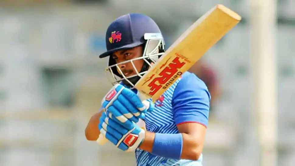 Vijay Hazare Trophy: Prithvi Shaw said a tip from Sachin Tendulkar helps  him score runs | Vijay Hazare Trophy: सिर्फ एक टिप से बदल गई किस्मत, Prithvi  Shaw ने एक ही सीजन