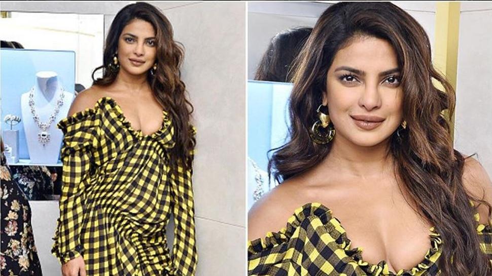 Priyanka Chopra फिर हुईं ट्रोल,  ड्रेस को लुंगी से किया कंपेयर