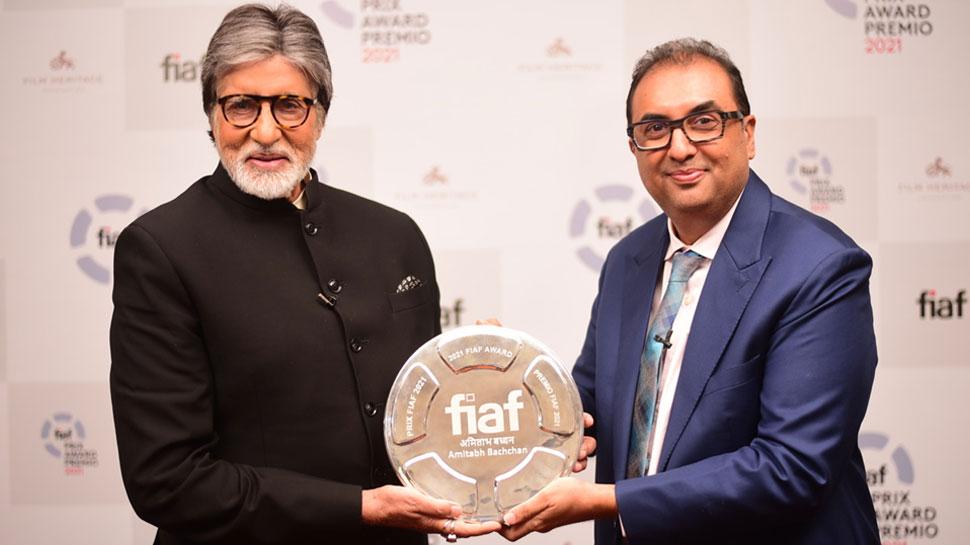 Amitabh Bachchan FIAF Award 2021, Martin Scorsese | FIAF अवॉर्ड पाने वाले  बने पहले भारतीय, नोलन ने भी की तारीफ