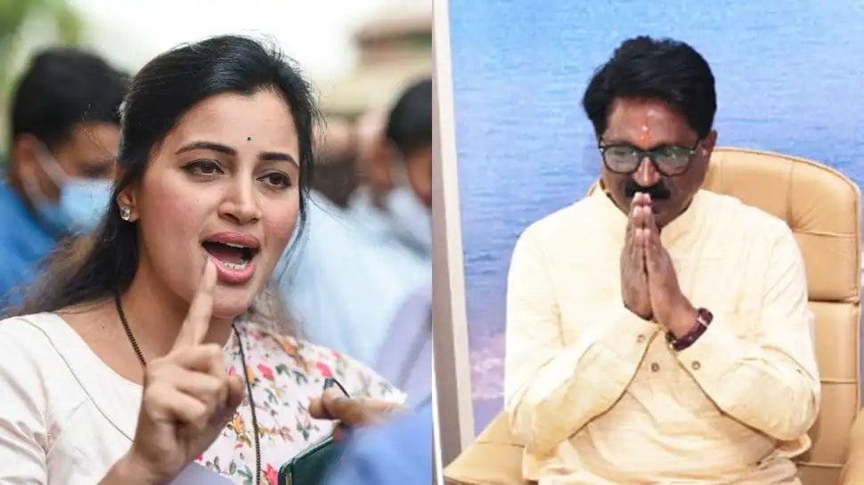 महिला सांसद Navneet Rana का बड़ा आरोप, कहा- शिवसेना MP अरविंद सावंत ने जेल भेजने की धमकी दी