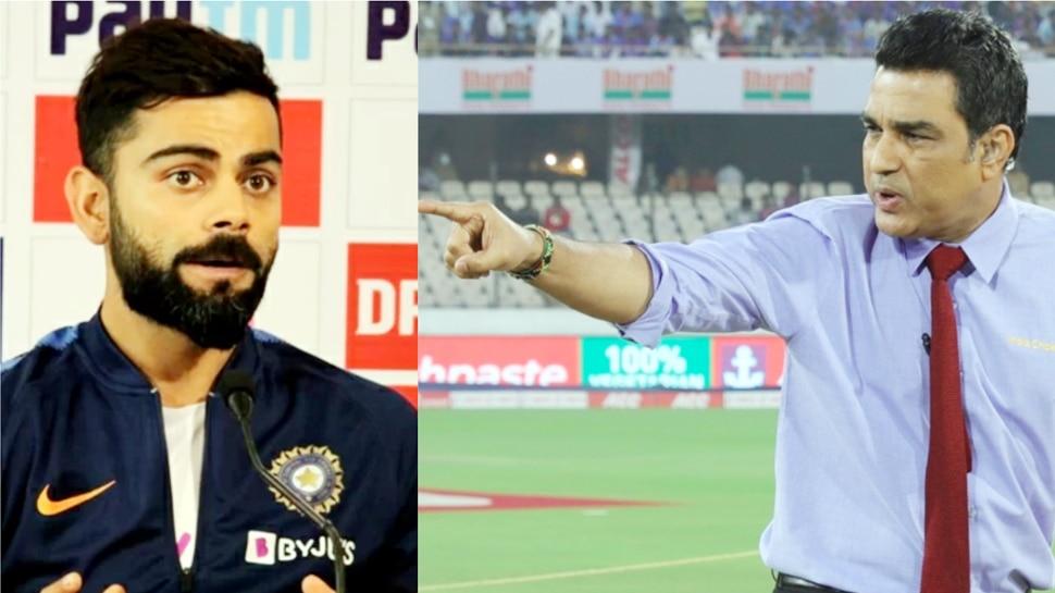 Virat के बर्ताव पर भड़के Sanjay Manjrekar, इस मामले में Dhoni को बताया Kohli से बेहतर