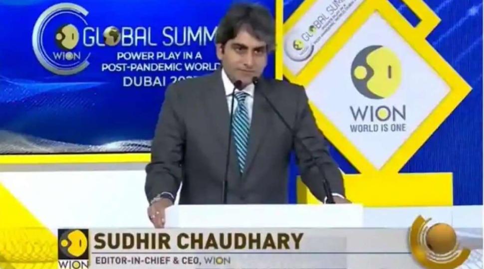 भारत की तरक्की के साथ WION की कामयाबी का जुड़ना सुखद संयोग: सुधीर चौधरी