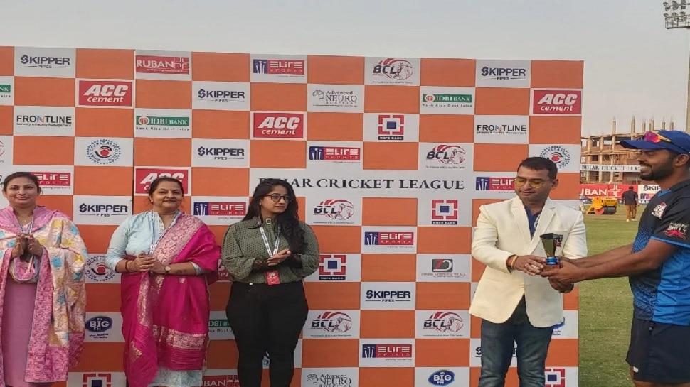 Bihar Cricket League 2021: भागलपुर बुल्स ने अंगिका एवेंजर्स को 44 रनों से हराया, जीत में चमके रहमतुल्लाह-प्रशांत,