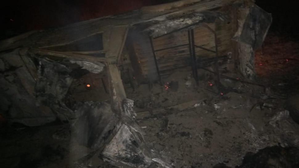 Rajasthan News : सूरतगढ़ में सेना की जिप्सी पलटी, 3 जवान जिंदा जले, 5 गंभीर घायल