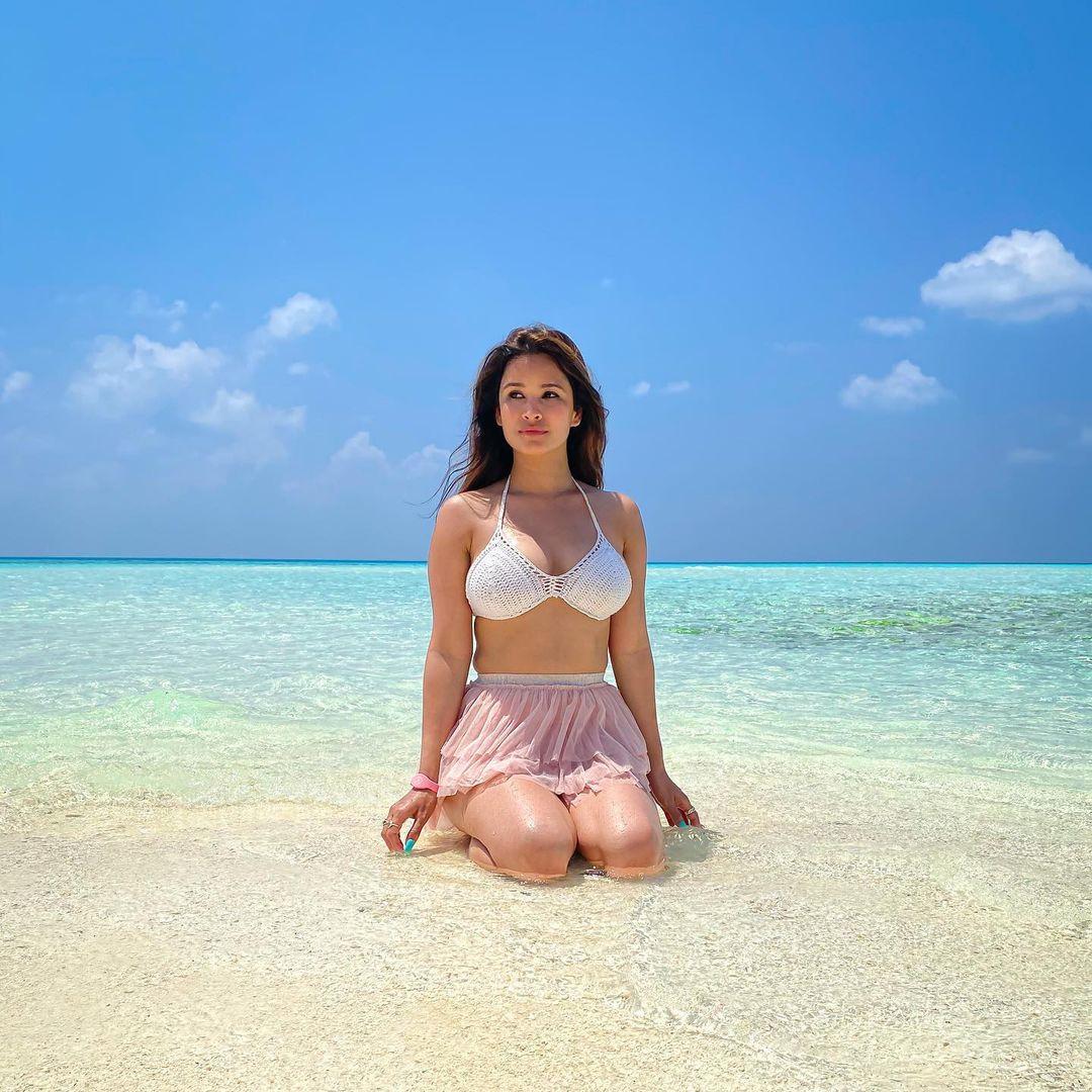 Chetna Pande beach wear