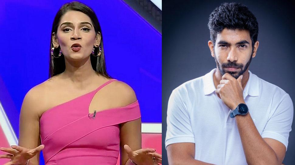 IND vs ENG: शादी के बाद Sanjana Ganesan ने पहली बार की एंकरिंग, फैंस ने पूछा- 'बुमराह कहां हैं?'