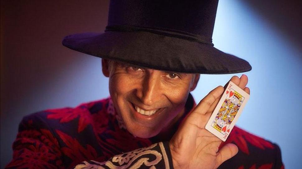 जादूगर के अवतार में गजब दिख रहे Akshay Kumar, आप भी कहेंगे-  'Atrangi Re'