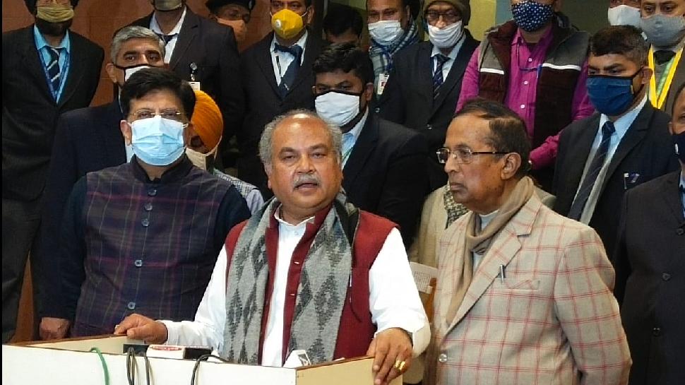केंद्र बातचीत के लिए तैयार, किसान संगठन चाहें तो Farmers Protest खत्म हो सकता है: Narendra Singh Tomar