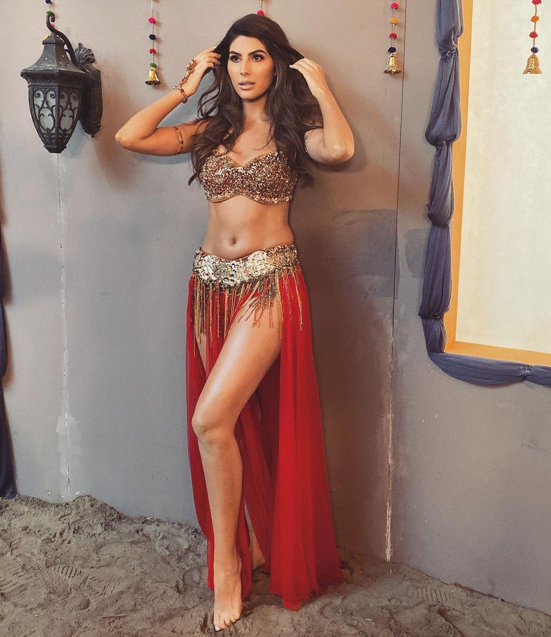 Actress Alnaz Naoroji