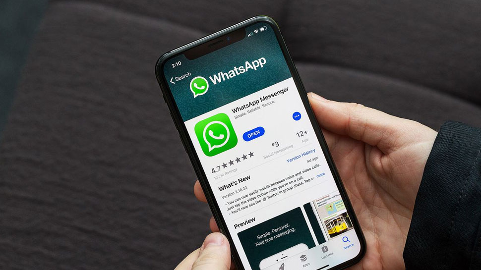Very limited color in WhatsApp