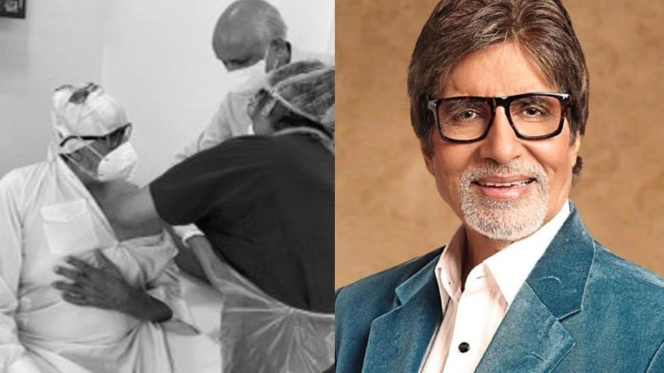 Amitabh Bachchan ने लगवाई कोरोना वैक्सीन, बताया अपना हाल