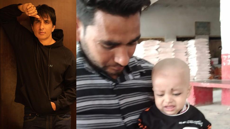 मासूम अहमद के लिए मसीहा बने सोनू सूद, मुंबई में कराएंगे दिल की बीमारी का इलाज