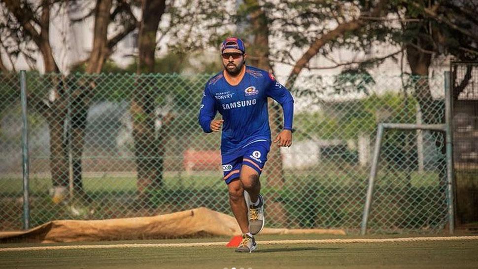IPL 2021: Rohit Sharma छठी बार चैम्पियन बनने को बेकरार, Mumbai Indians कैंप में शुरू की Training