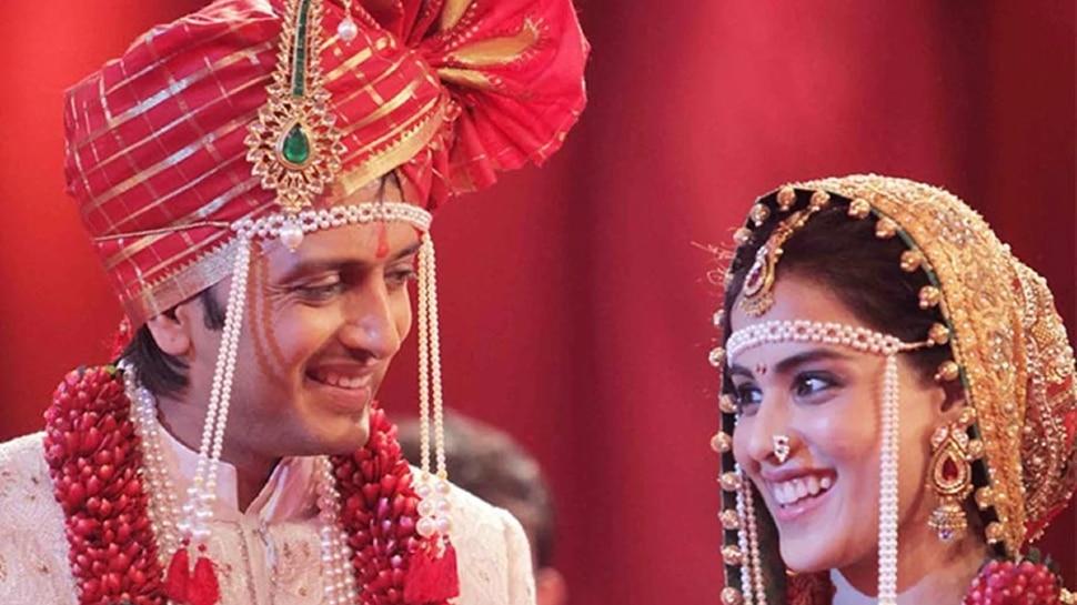 Genelia ने दिखाई शादी की फोटोज, Riteish Deshmukh को याद आ गई दर्दभरी गजल