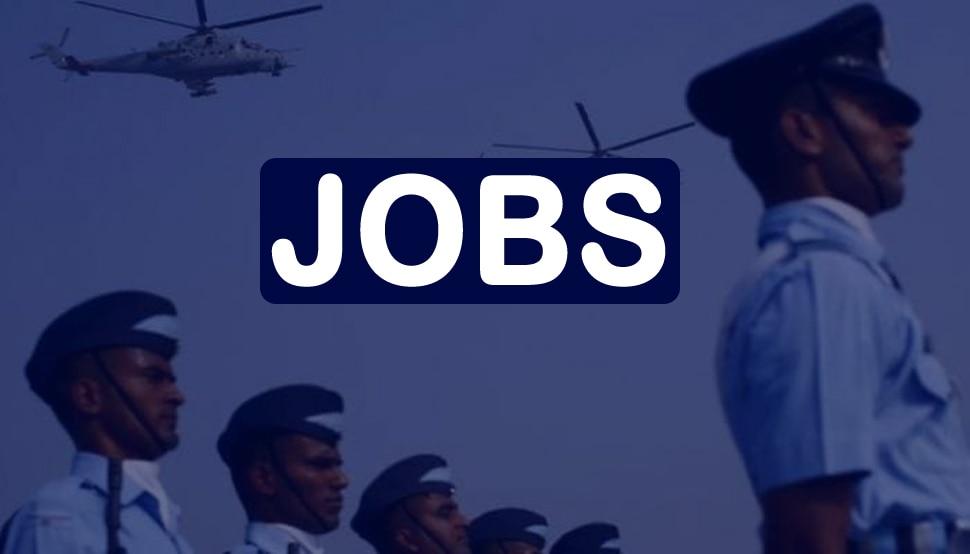 Airforce में हिंदी टाइपिस्ट, कुक, ड्राइवर और स्टोर कीपर के पदों पर निकली बंपर भर्तियां