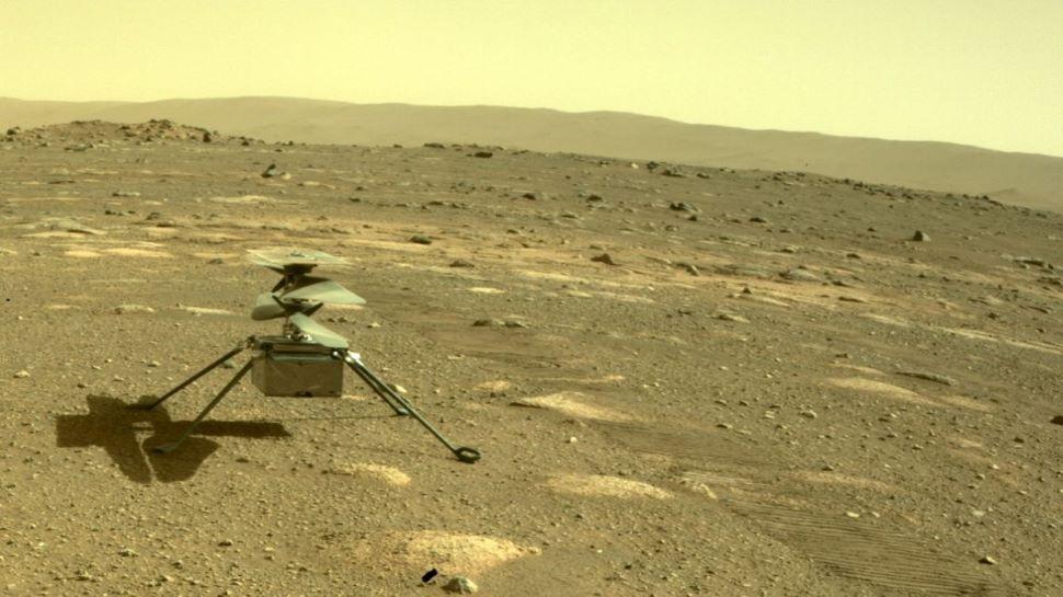NASA Mars Mission: मंगल की सतह पर उतरा Ingenuity हेलिकॉप्टर, लाल ग्रह की सर्द रातें हैं चुनौती; भरेगा ऐतिहासिक उड़ान