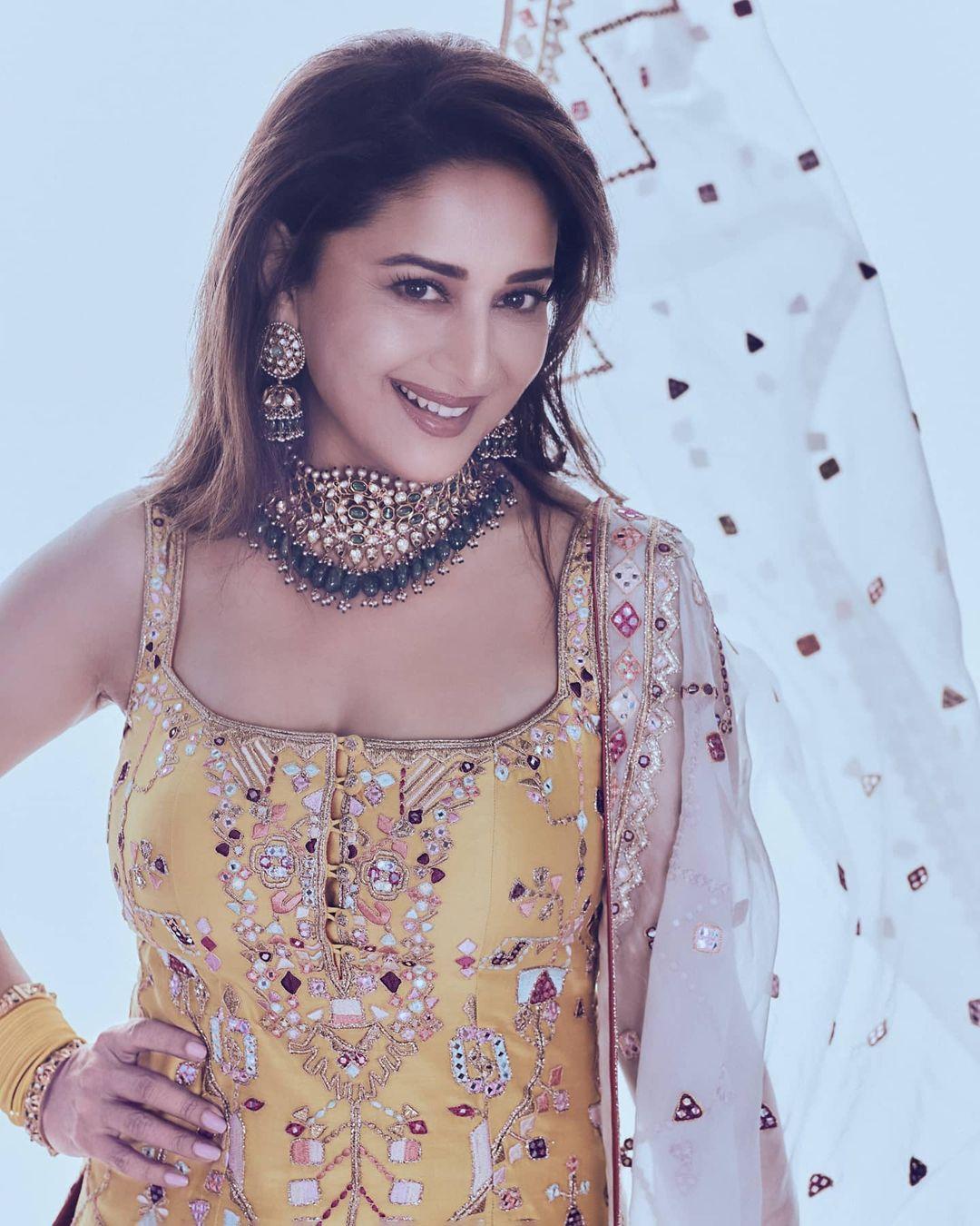 Madhuri Dixit stylish look