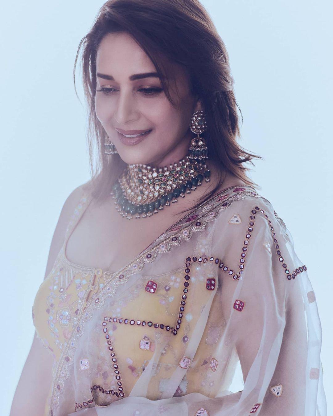 Madhuri Dixit looking glamorous