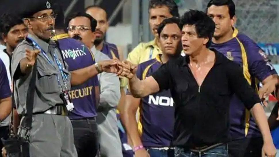 Shahrukh Khan banned from Wankhede Stadium