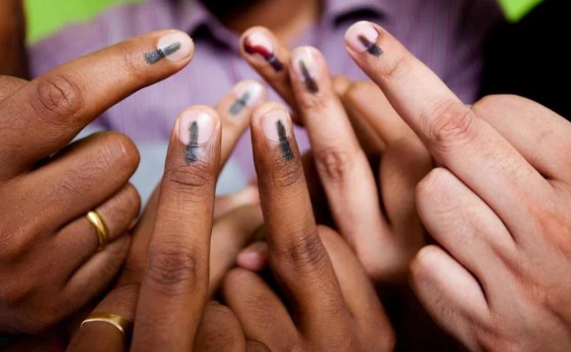 पांच राज्यों में पड़े वोट, कितना रहा मतदान प्रतिशत जानिए