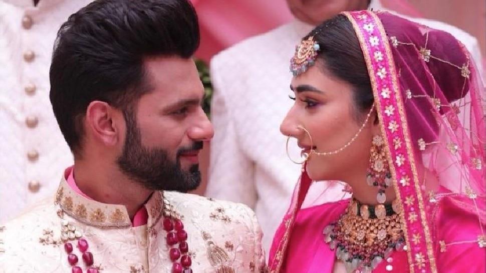 Rahul Vaidya - Disha Parmar की हो गई शादी! सोशल मीडिया पर Video मचा रहा धूम