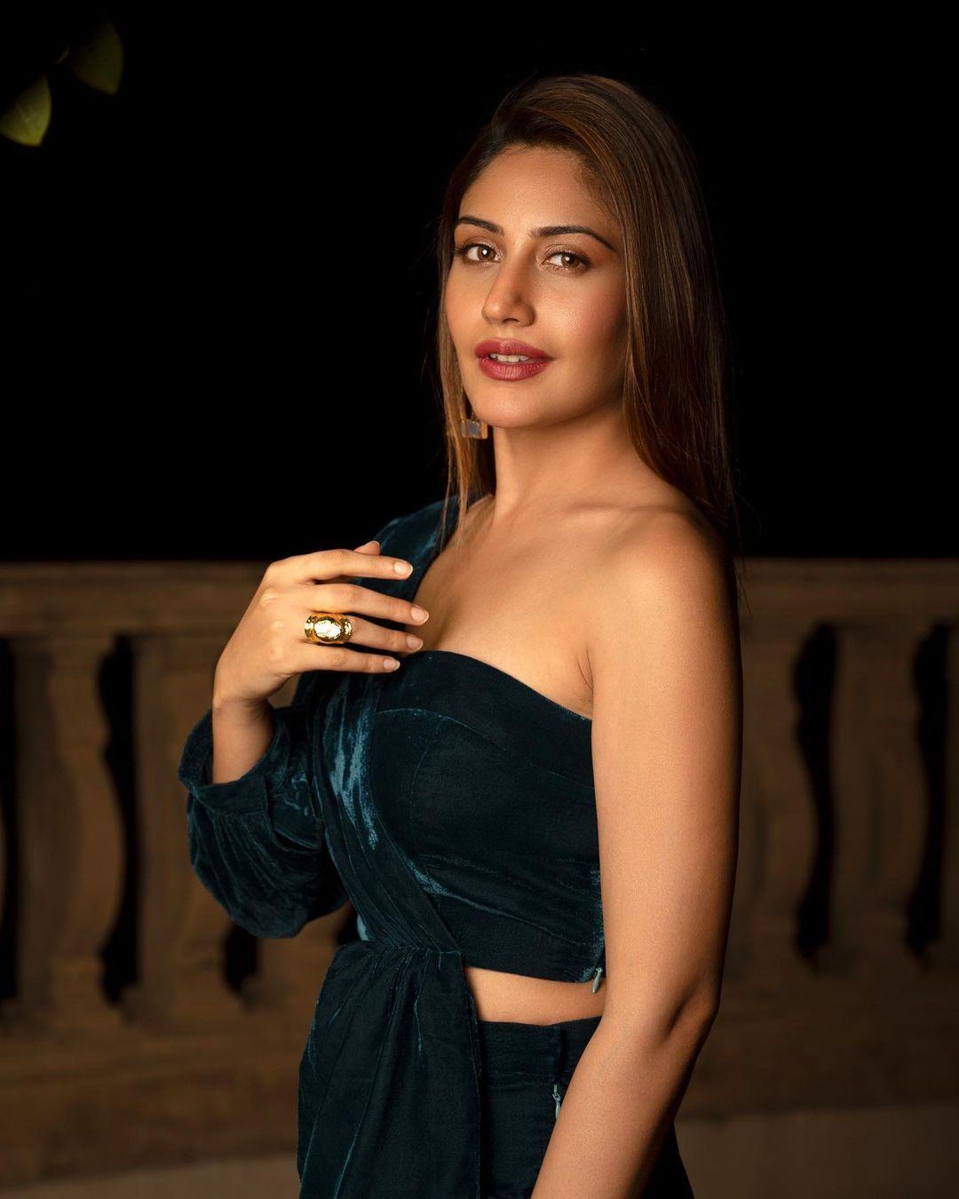 Surbhi Chandna in maroon