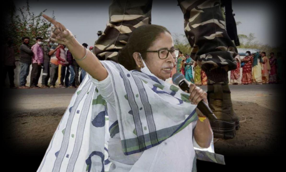 कूचबिहार हिंसा को दीदी ने बताया नरसंहार, चुनाव आयोग ने बदला प्रचार का नियम