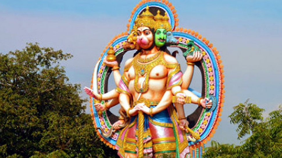 Hanuman is known as 'Sri Anjaneeswamy' in the south