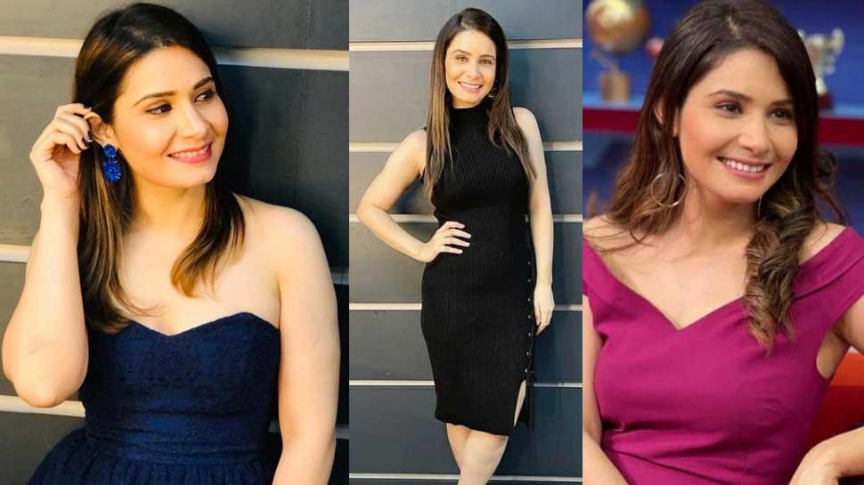 Tanya Purohit IPL 2021 Anchor