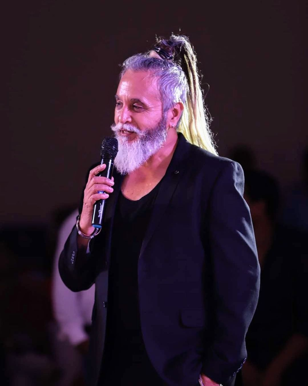 dinesh mohan started modelling at 60