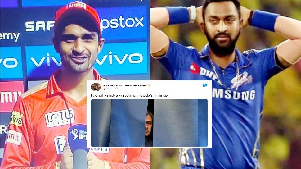 IPL 2021: Deepak Hooda के तूफानी अर्धशतक के बाद ट्रोल हुए Hardik Pandya के बड़े भैया, ये है वजह