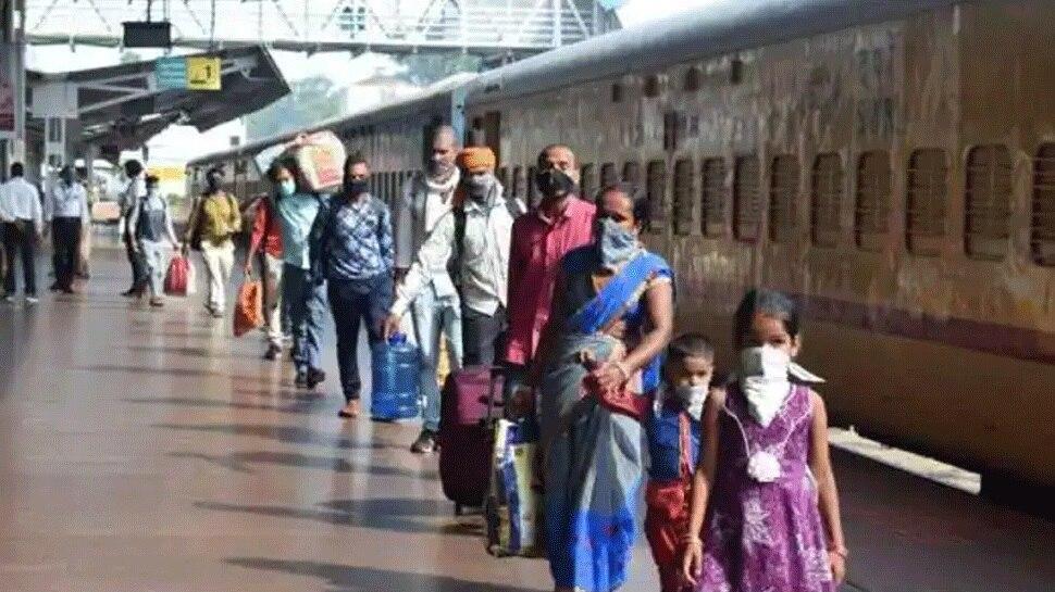 Maharashtra: संपूर्ण Lockdown की आशंका से बढ़ी यात्रियों की भीड़, रेलवे ने किया 106 नई ट्रेनों का ऐलान