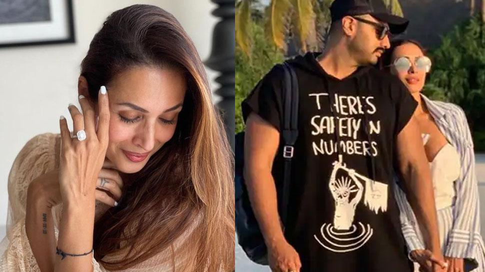 Malaika Arora और Arjun Kapoor ने की गुपचुप सगाई? डायमंड रिंग देख फैंस ने दी बधाई