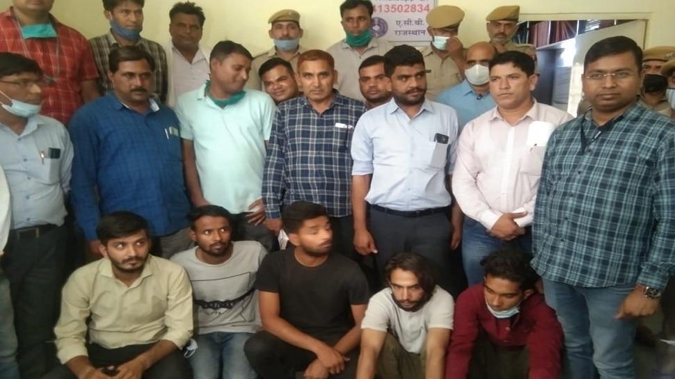 Jaipur में 45 लाख रुपए लूट मामला, 6 आरोपी गिरफ्तार, खुले बड़े राज