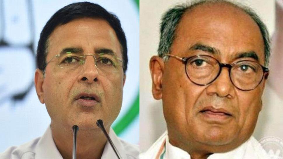 Corona: कांग्रेस नेता Digvijay Singh और Randeep Surjewala संक्रमित, हरसिमरत कौर बादल भी पॉजिटिव