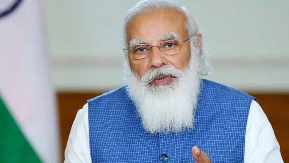 'Corona संकट के चलते प्रतीकात्मक हो Kumbh', PM Modi ने Swami Avdheshanand Giri से की बात