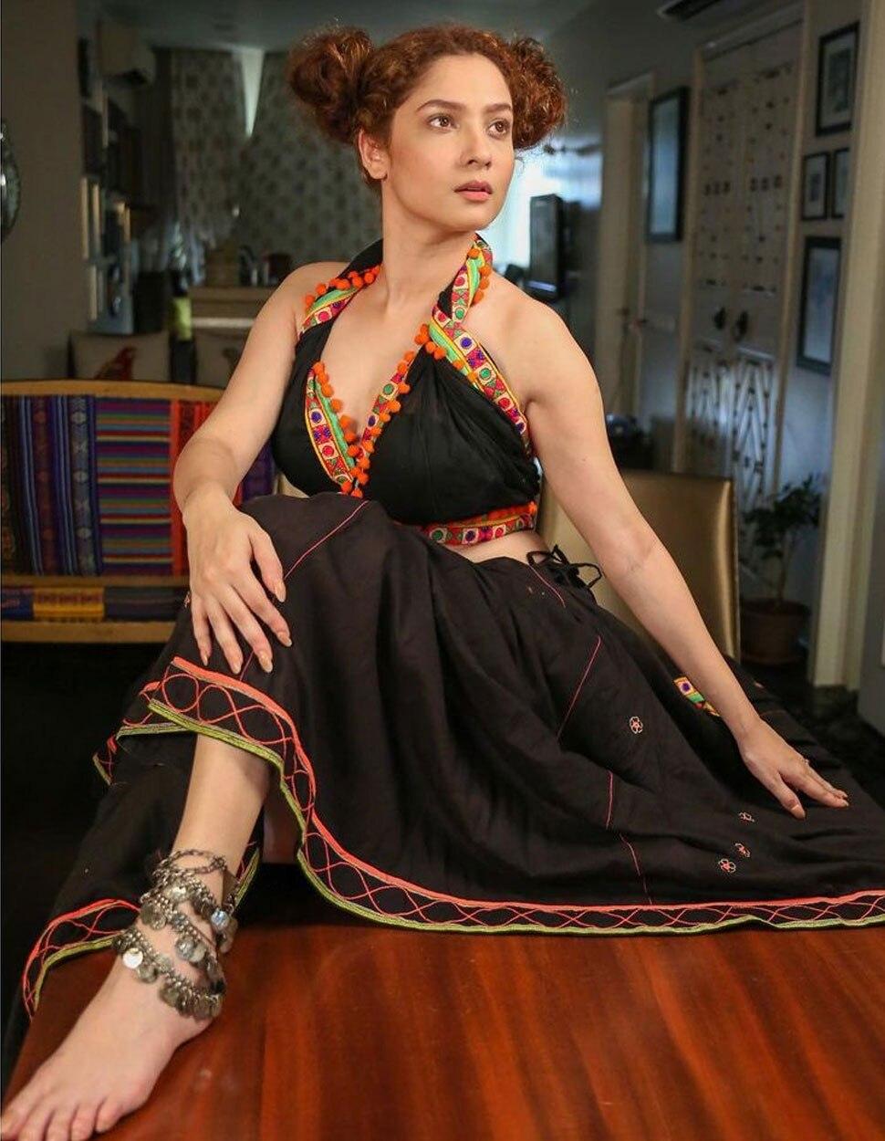 Ankita Lokhande in Black Dress Photo