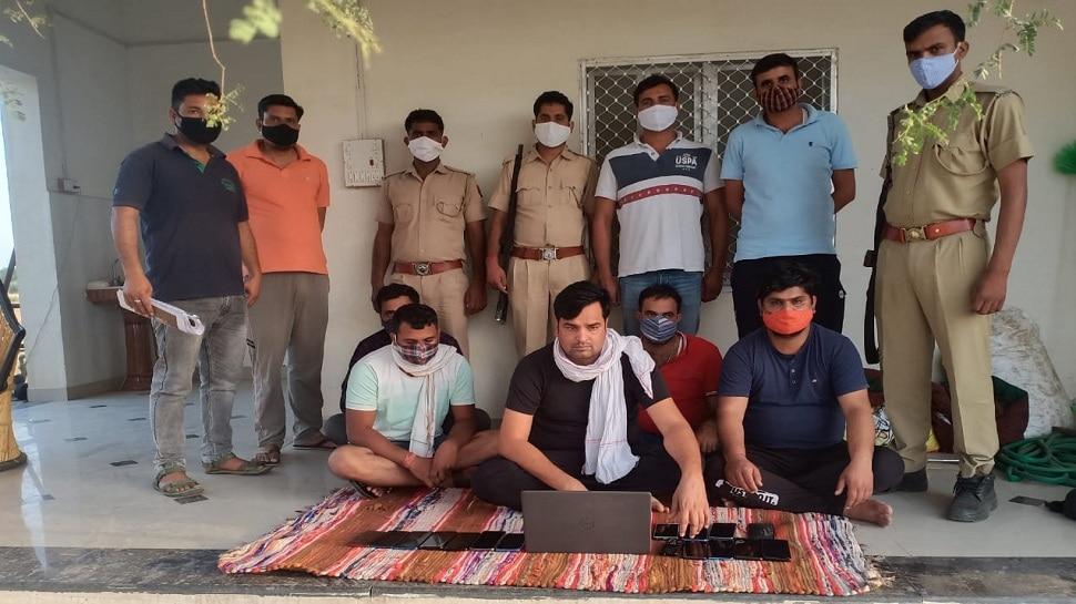 Jhunjhunu : सटोरियों को पुलिस ने किया बोल्ड, फाॅर्म हाउस पर सट्टा करते पांच गिरफ्तार