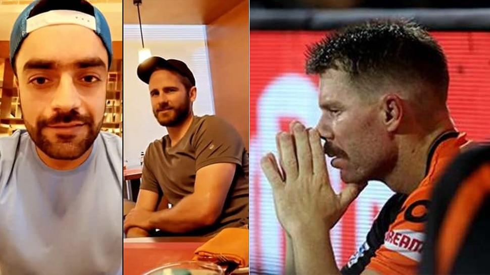 वॉर्नर और विलियमसन ने राशिद खान के साथ रखा रोजा, बोले- बहुत मुश्किल है... देखिए VIDEO