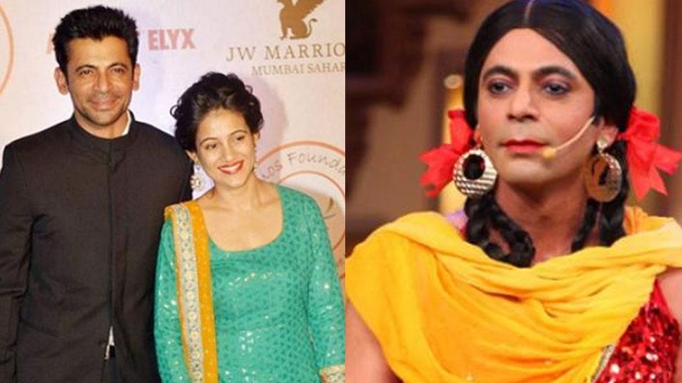 Meet Sunil Grover wife Aarti Grover
