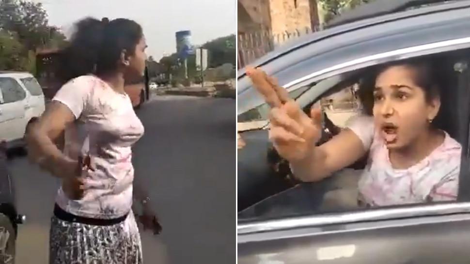 """""""मैंने UPSC मैंस पास किया है, तुम मेरा कुछ नहीं बिगाड़ सकते, मुझे सारे कानून पता हैं"""", देखिए VIDEO"""