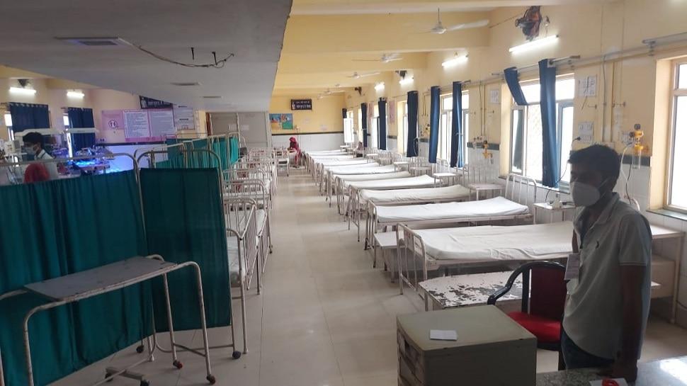 Bhilwara News महात्मा गांधी अस्पताल के NICU में लगी आग, सभी बच्चे सुरक्षित