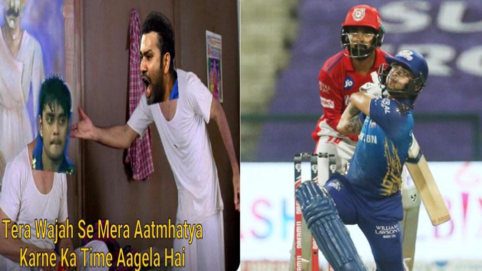 IPL 2021: 17 गेंदों पर Ishan Kishan ने बनाए सिर्फ 6 रन, लोगों ने सोशल मीडिया पर लगा दी क्लास