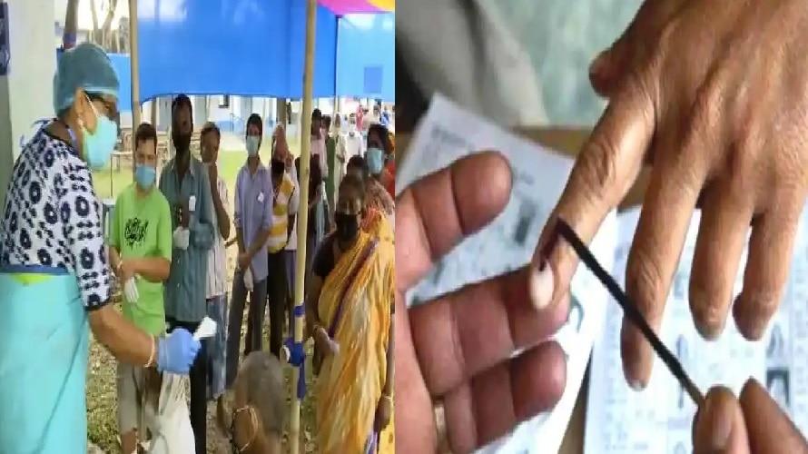 West Bengal Election: कोरोना के खौफ के बीच भी 7वें चरण में भी खूब हुआ मतदान