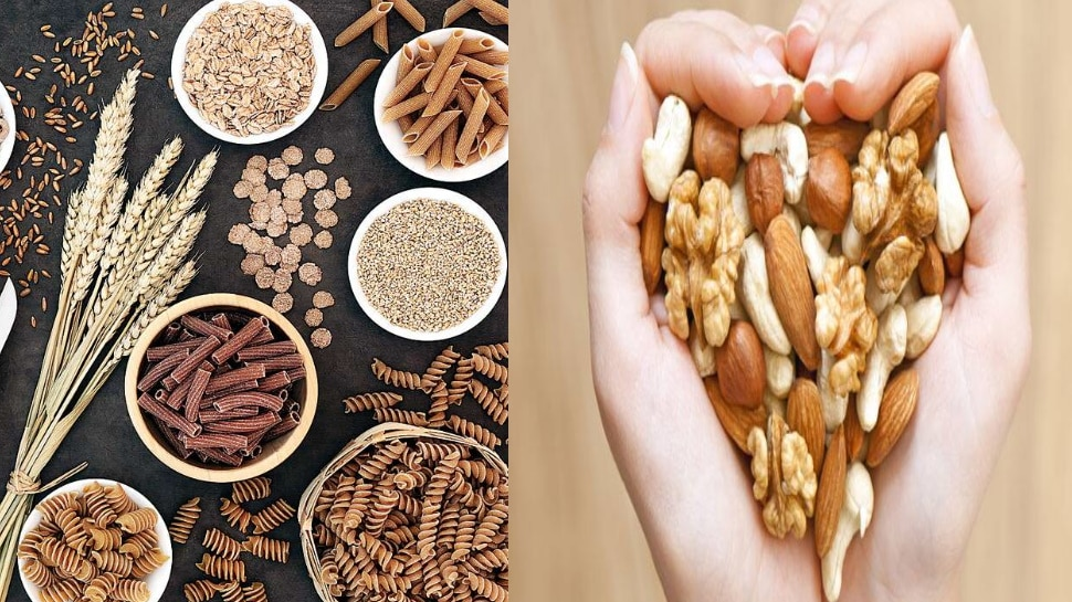 whole grain and nuts