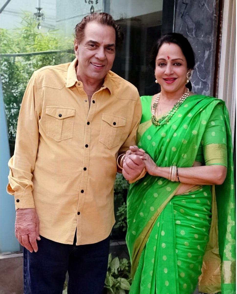 Hema;Dharm Marriage Anniversary