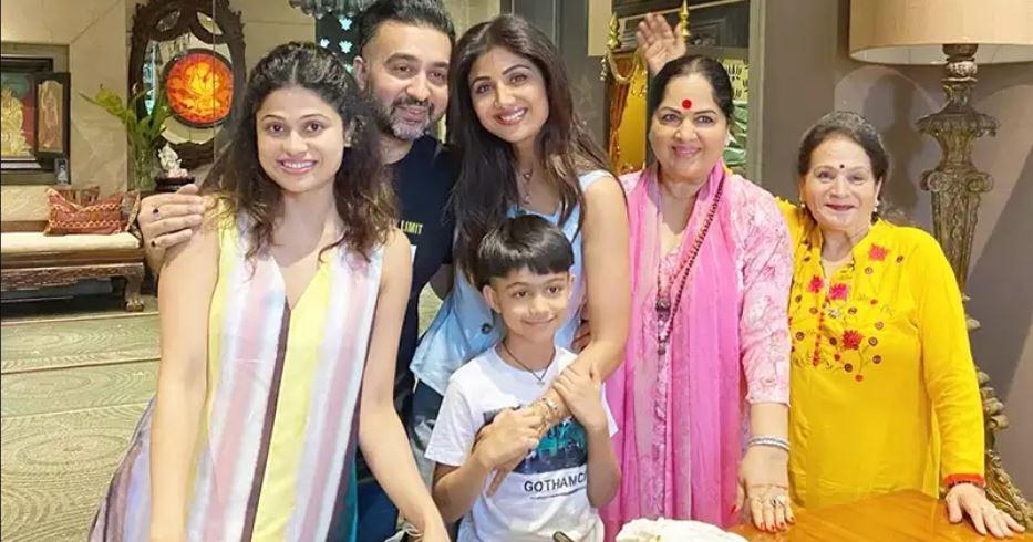 शिल्पा शेट्टी की एक साल की बेटी हुई कोरोना पॉजिटिव, पूरे परिवार सहित स्टाफ भी संक्रमित