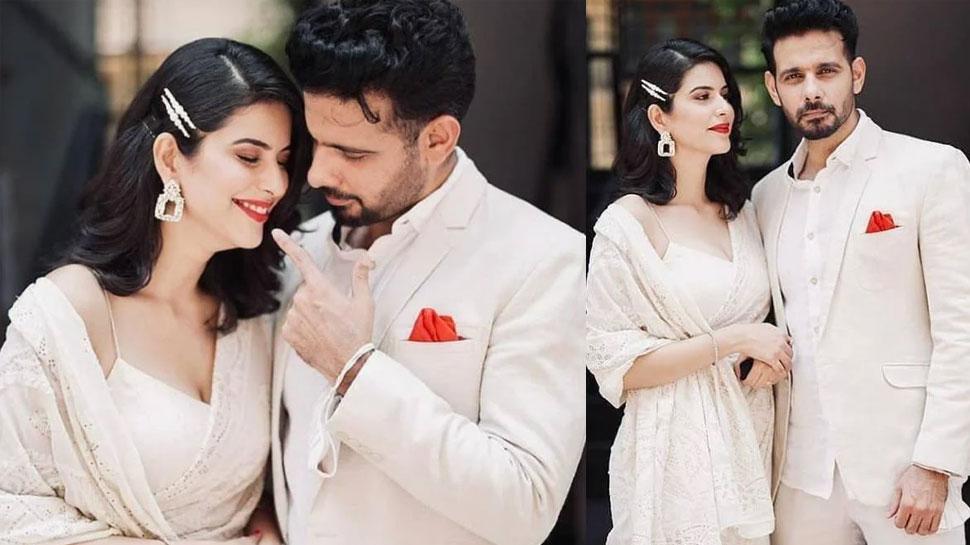 एक्टर Viraf Patel और Saloni Khanna ने रचाई शादी, अंगूठी की जगह पहनाया रबर बैंड, टोटल खर्च 150 रुपये